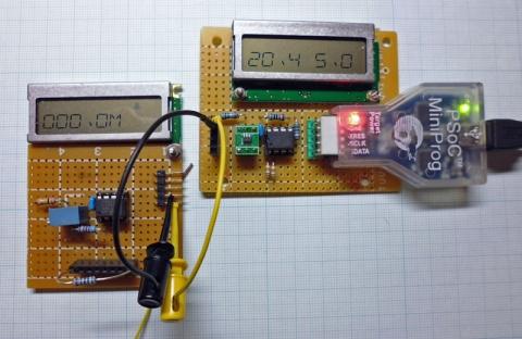 MiniProg電流計動作