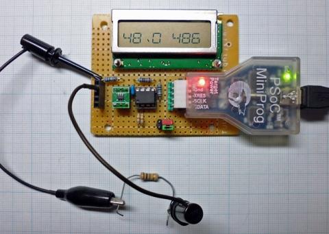 MiniProg電流計改動作
