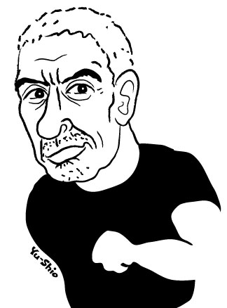 松本人志 caricature