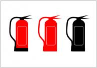 消火器のフリー素材・画像・イラスト・テンプレート