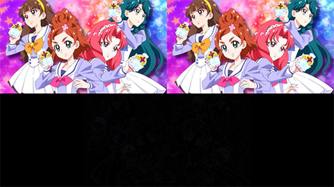 【Go!プリンセスプリキュア】OP比較[第33話・第34話]