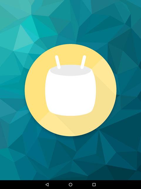 【Nexus 9】Android 6.0 Marshmallow