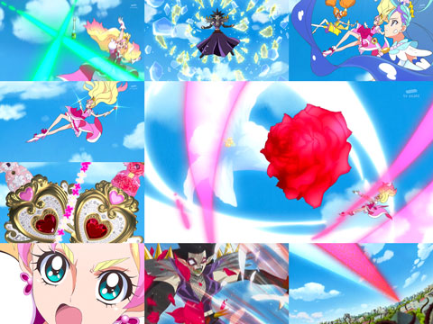 【Go!プリンセスプリキュア】第39回「夢の花ひらく時!舞え、復活のプリンセス!」