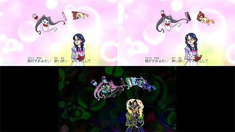 【Go!プリンセスプリキュア】ED比較[第34話・第41話]