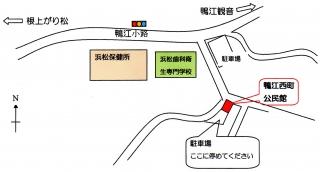 地図 鴨江
