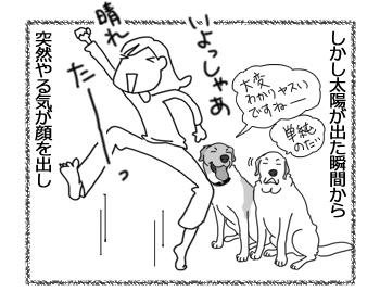羊の国のラブラドール絵日記シニア!!「晴れの誤算」3
