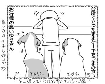 羊の国のラブラドール絵日記シニア!!「兄弟の表情」1