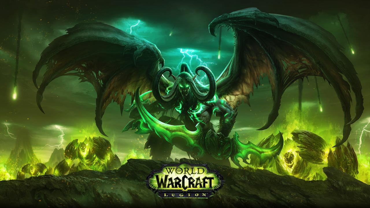 world of warcraft 拡張パック legion 2016年夏に発売 レベル100まで