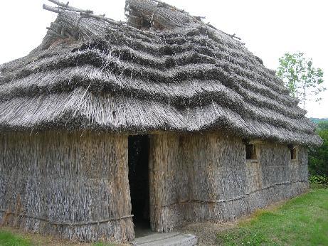 アイヌの家の復元