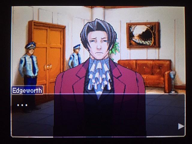 逆転裁判 北米版 審理最終日、控え室12