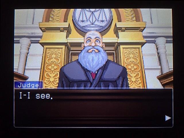 逆転裁判 北米版 ゴード・レイク殺人審理最終日、開廷19