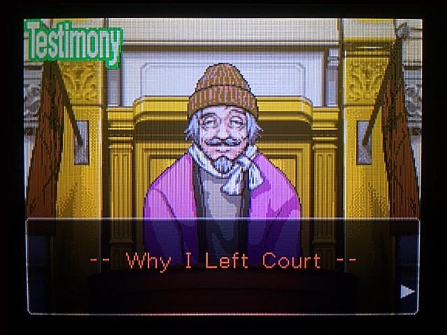 逆転裁判 北米版 管理人証言、何故行方を晦ましたのか1