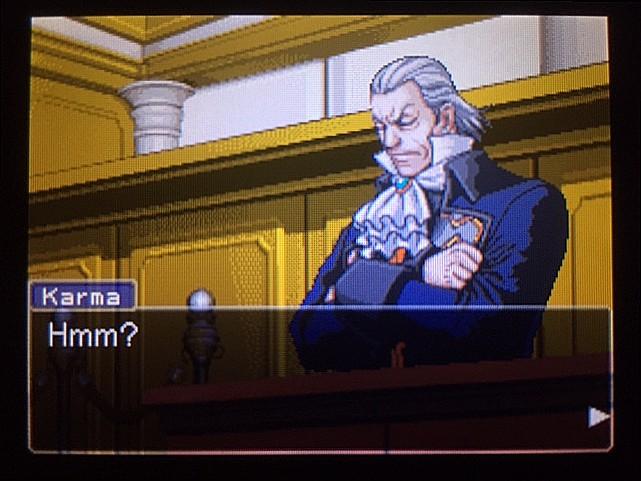 逆転裁判 北米版 管理人の正体の証明はどうするか?15