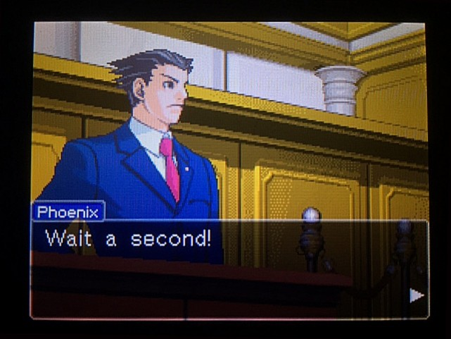 逆転裁判 北米版 オウム入廷3