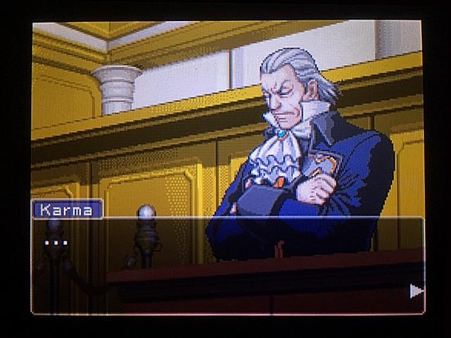 逆転裁判 北米版 オウム入廷7