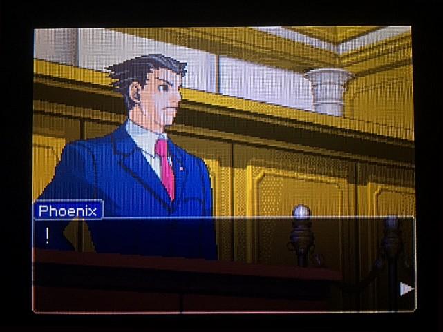 逆転裁判 北米版 オウム入廷9