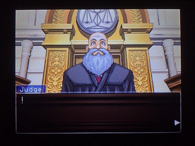 逆転裁判 北米版 オウム入廷17