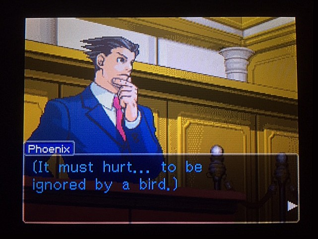 逆転裁判 北米版 オウム入廷28