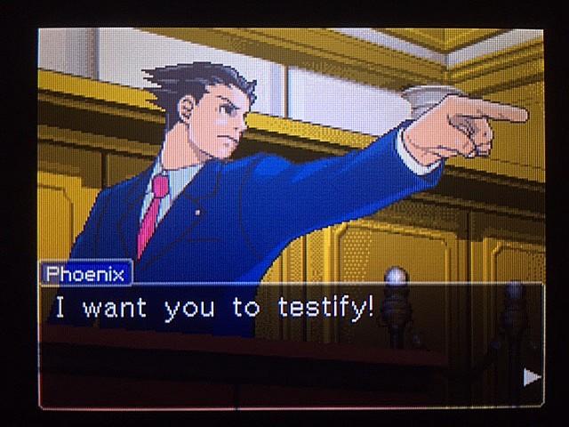 逆転裁判 北米版 オウムのポリーの証言と反対尋問13