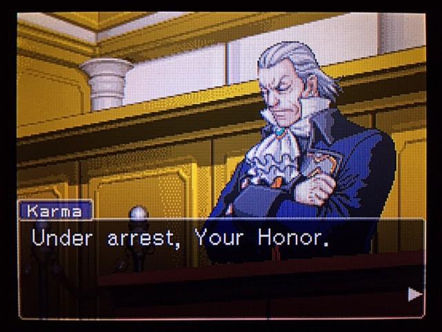 逆転裁判 北米版 エッジワースへの無罪判決!だが…2