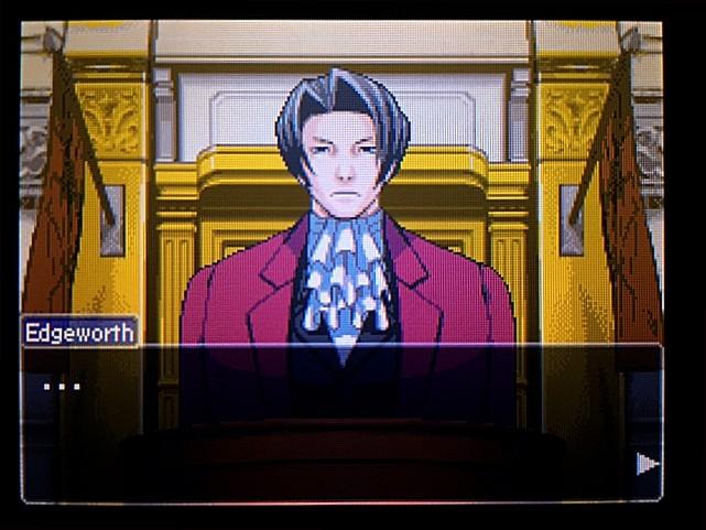 逆転裁判 北米版 エッジワースへの無罪判決!だが…12