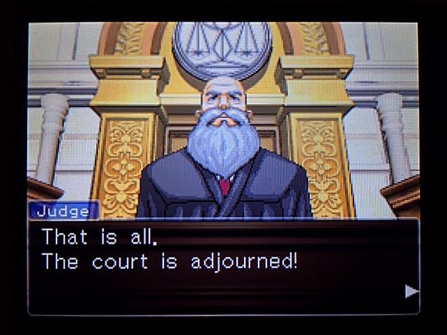 逆転裁判 北米版 エッジワースへの無罪判決!だが…19