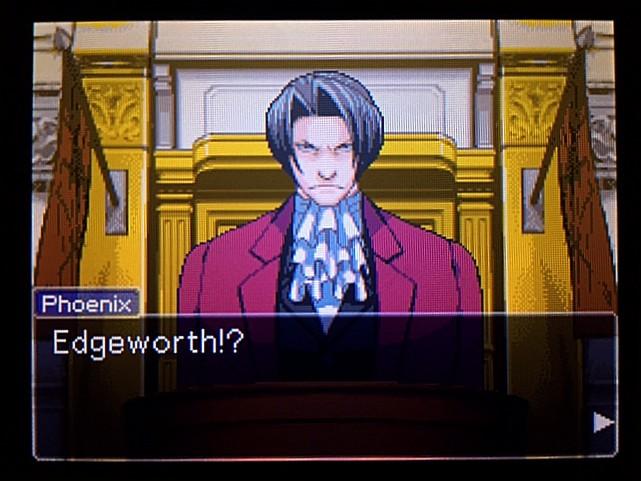 逆転裁判 北米版 エッジワースへの無罪判決!だが…27