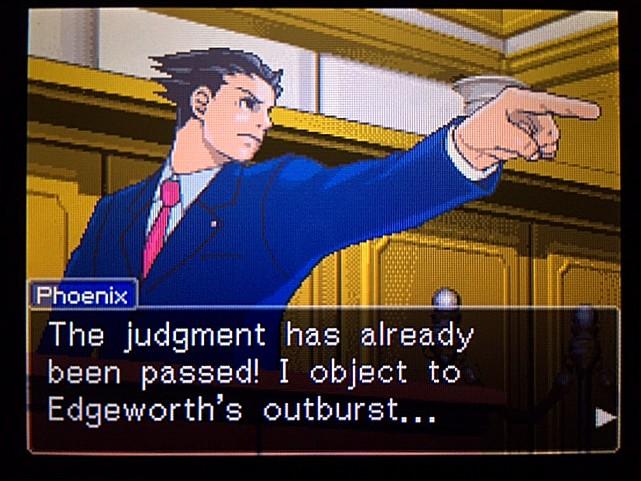 逆転裁判 北米版 エッジワースへの無罪判決!だが…35