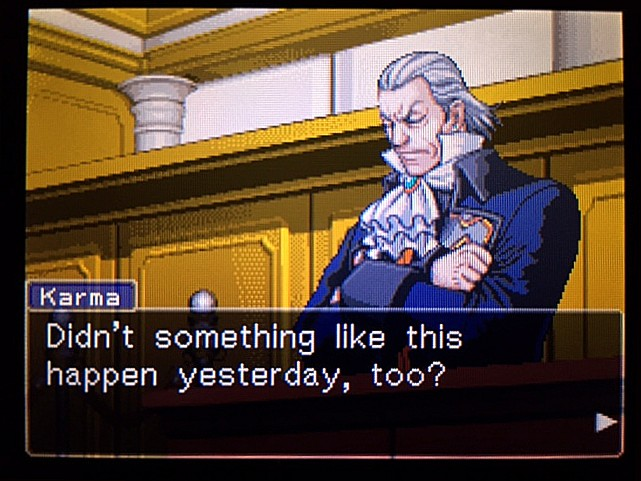 逆転裁判 北米版 エッジワースへの無罪判決!だが…36