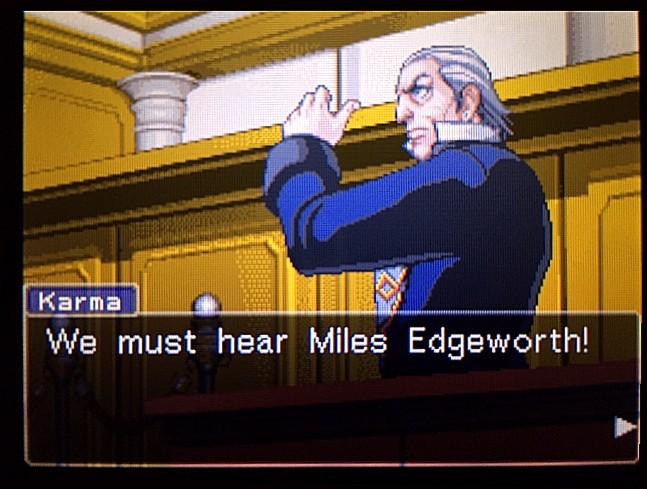 逆転裁判 北米版 エッジワースへの無罪判決!だが…39