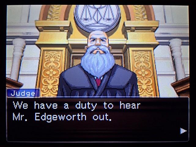 逆転裁判 北米版 エッジワースへの無罪判決!だが…41