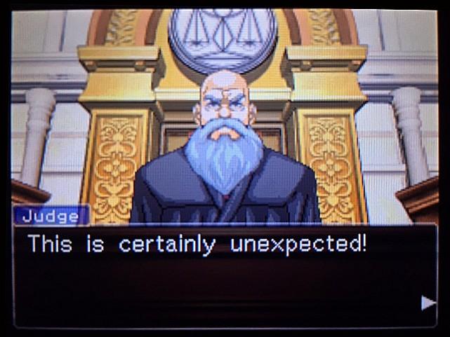 逆転裁判 北米版 エッジワースの独白9