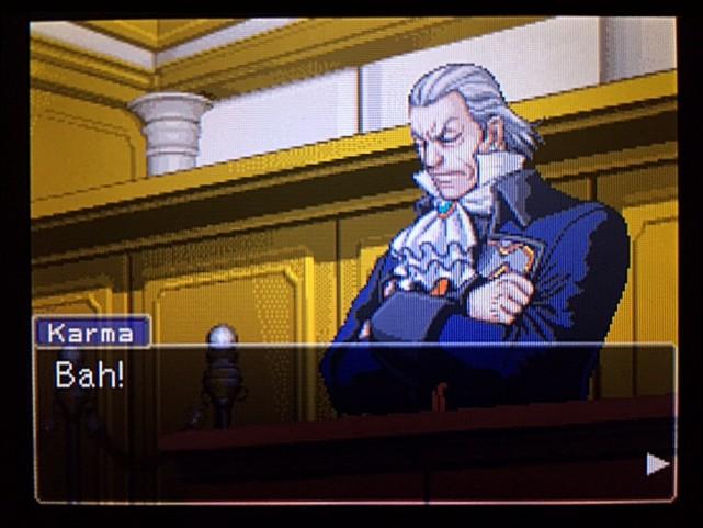 逆転裁判 北米版 エッジワースの独白12