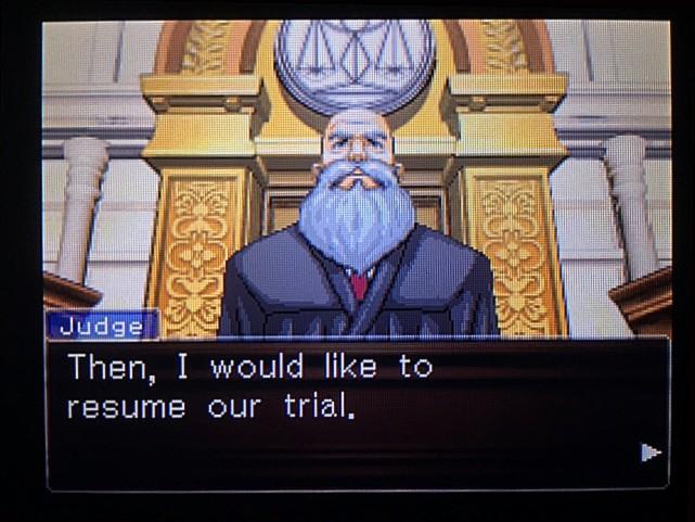 逆転裁判 北米版 DL-6法廷、開廷2