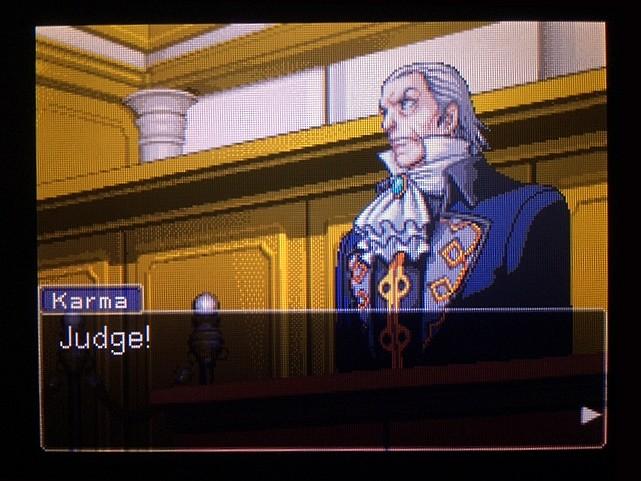 逆転裁判 北米版 DL-6法廷、開廷3