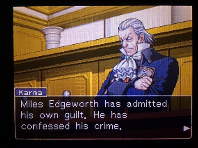 逆転裁判 北米版 DL-6法廷、開廷4