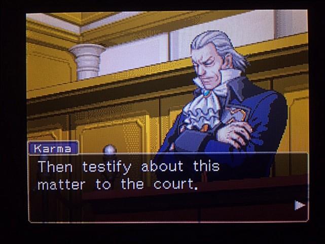 逆転裁判 北米版 DL-6法廷、開廷16