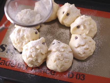どうぶつちぎりパン一時間でできる手作りパン06