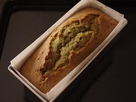 抹茶とあずきの和風パウンドケーキ05
