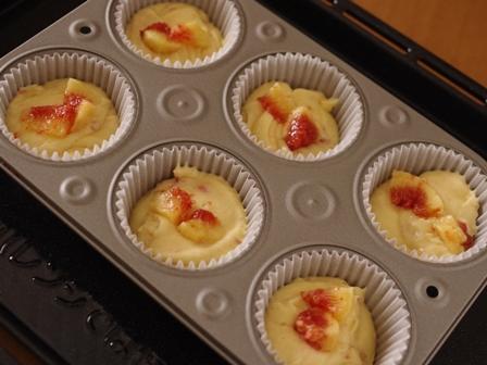 しっとりしっとり簡単イチジクのカップケーキ03
