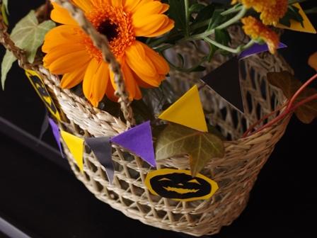 花と料理で楽しむハッピーハロウィン07