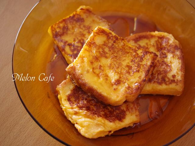ある朝ごはんのフレンチトースト