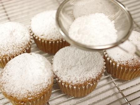 ホットケーキミックスでカップケーキの簡単クリスマスシュトレン09