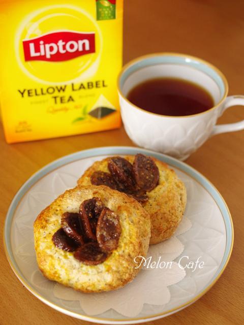 ホットケーキミックスで作るドライフィグでイチジクの簡単さくさくパン
