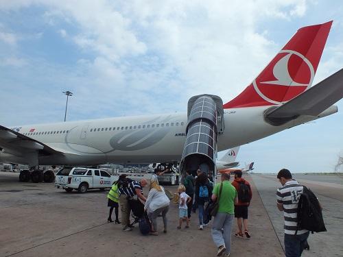 トルコ航空A330