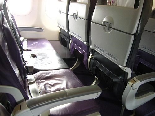 空席3つならベッドとして利用可能