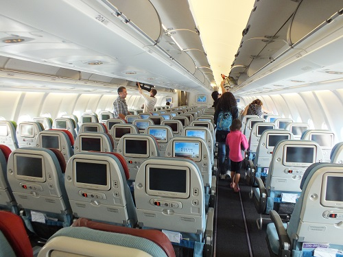 トルコ航空エコノミークラス