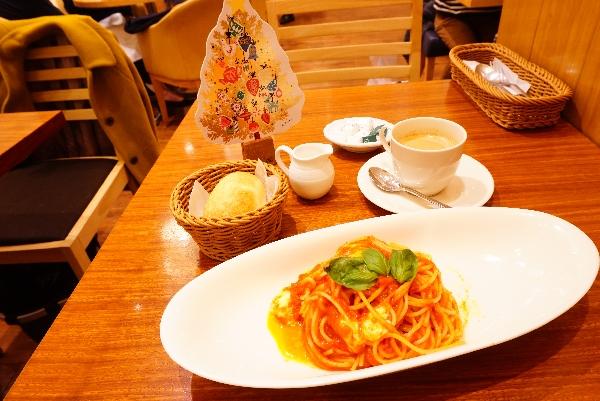 【Afternoon Tea】オーガニックトマトとモッツァレラチーズのトマトソースパスタ