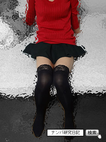 【路上・リアルナンパ】 ニーハイ老女 準即(グロ注意)_02