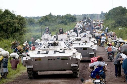 ルール無用、そして問答無用なんです ~ 前代未聞、国連軍を妨害するモノたち
